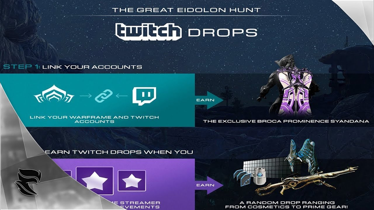 warframe  how to link your warframe account to your twitch account for poe