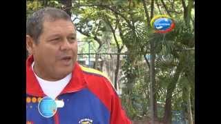 Halterofilia en la tercera edad - Colombeia TV