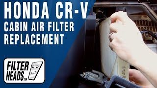 Video How to Replace Cabin Air Filter Honda CR-V download MP3, 3GP, MP4, WEBM, AVI, FLV Juni 2018