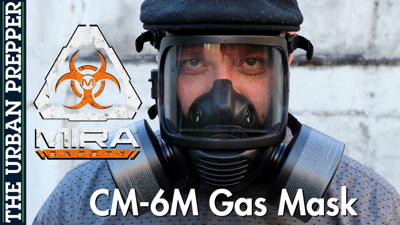 MIRA Safety CM-6M Gas Mask Review | Pandemic & CBRN | #Coronavirus
