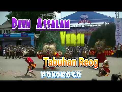 Deen Assalam Versi Reog Ponorogo