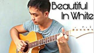 EASY!(+tutorial)Beautiful in White - Shane Filan (Guitar Fingerstyle Cover) KARAOKE