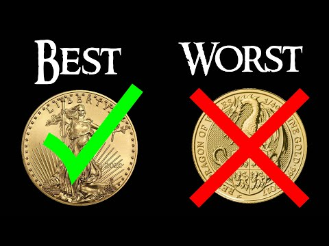 The BEST and WORST Types of Gold for Stacking or Investing