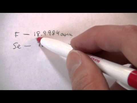 Formula From Atomic Masses & Mass Ratio