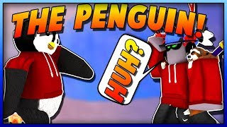 I BECAME A PENGUIN IN SUPER POWER TRAINING SIMULATOR! (ROBLOX)