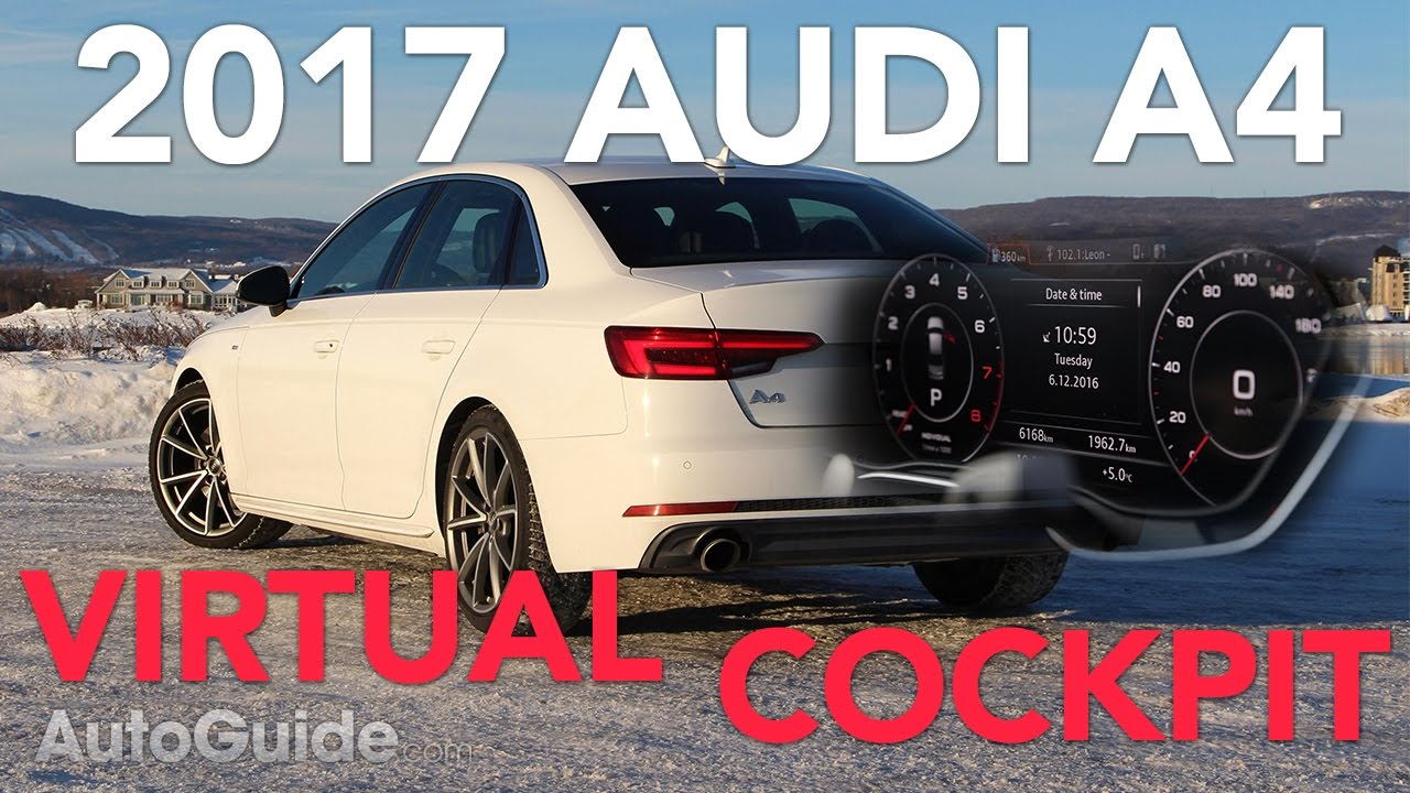 2017 Audi A4 Long Term Test Virtual Pit Mmi Infotainment System