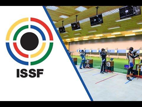 10m Air Rifle Men Junior Final - 2016 ISSF Rifle/Pistol/Shotgun Junior World Cup in Gabala (AZE)