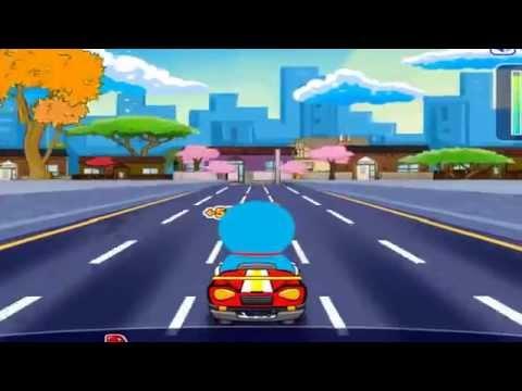 Game doremon dua xe oto - Chơi game đua xe ôtô cùng Doremon