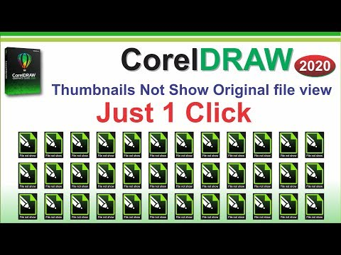 Corel Draw CDR file not Preview Thumbnails how to Salve this problem tutorial by, Amjad Graphics