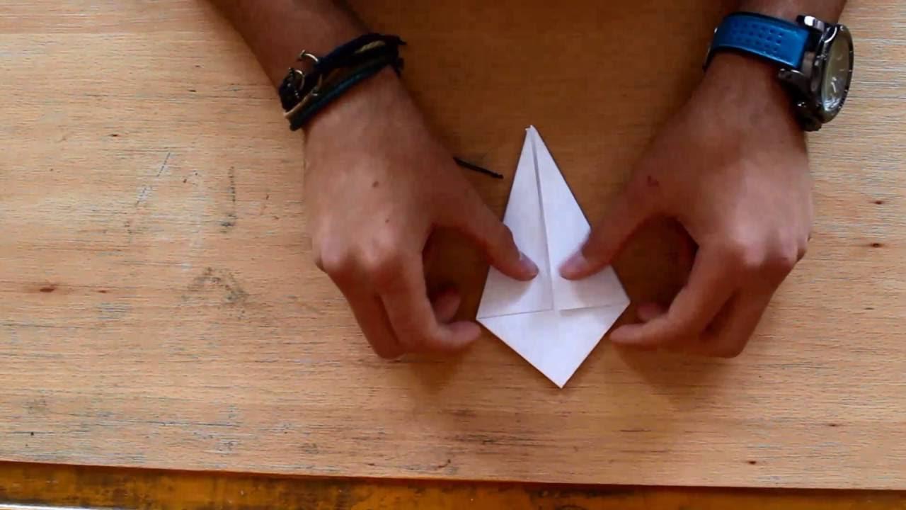 Origami Kuğu Yapımı (How to make a origami swan)