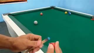 Se você aprender matar bola com esse efeito, melhora 100% seu nível de jogo na sinuca.