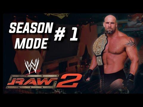 WWE RAW 2: Season Mode  1 ROAD TO 100K SUBSCRIBERS