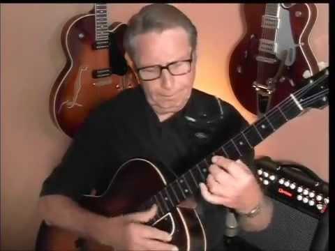 Satin Doll Jazz Guitar Chord Melody Youtube