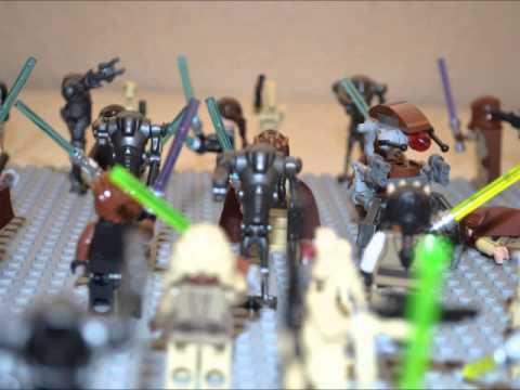 Lego Star Wars Battle Of Geonosis MOC - YouTube