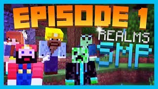 MEET THE FAM! - EP.1 // Minecraft PE Unity Realms SMP