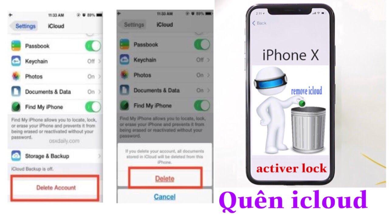 Hướng dẫn thoát ẩn icloud iphone khi quên mật khẩu  chia sẻ nghiệp duw