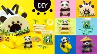 DIY Miniature animal  set - panda !