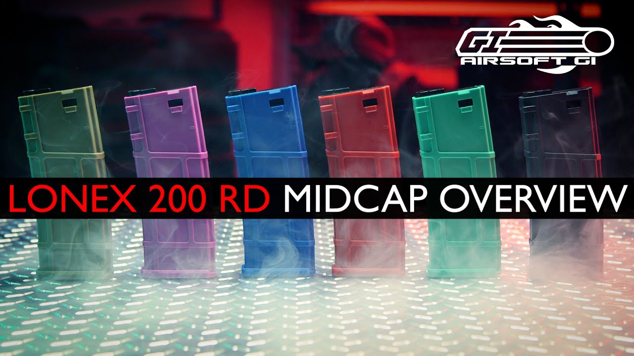 HOW DID THESE FLY UNDER THE RADAR?! - Lonex 200rd Mid Cap Magazines | Airsoft GI