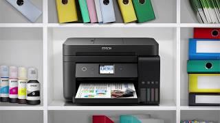 Принтер Epson L-серії компактні інтегровані ємності для чорнила принтерів