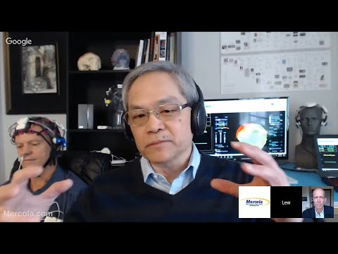 Interview with Lew Lim and Dr. Mercola on EEG and Brain Photobiomodulation