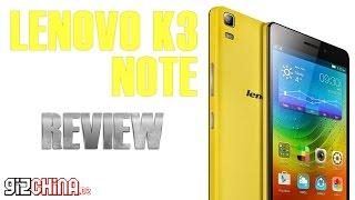 Lenovo K3 Note Review English - Best MT6752 Budget Phablet? (gizchina.de)