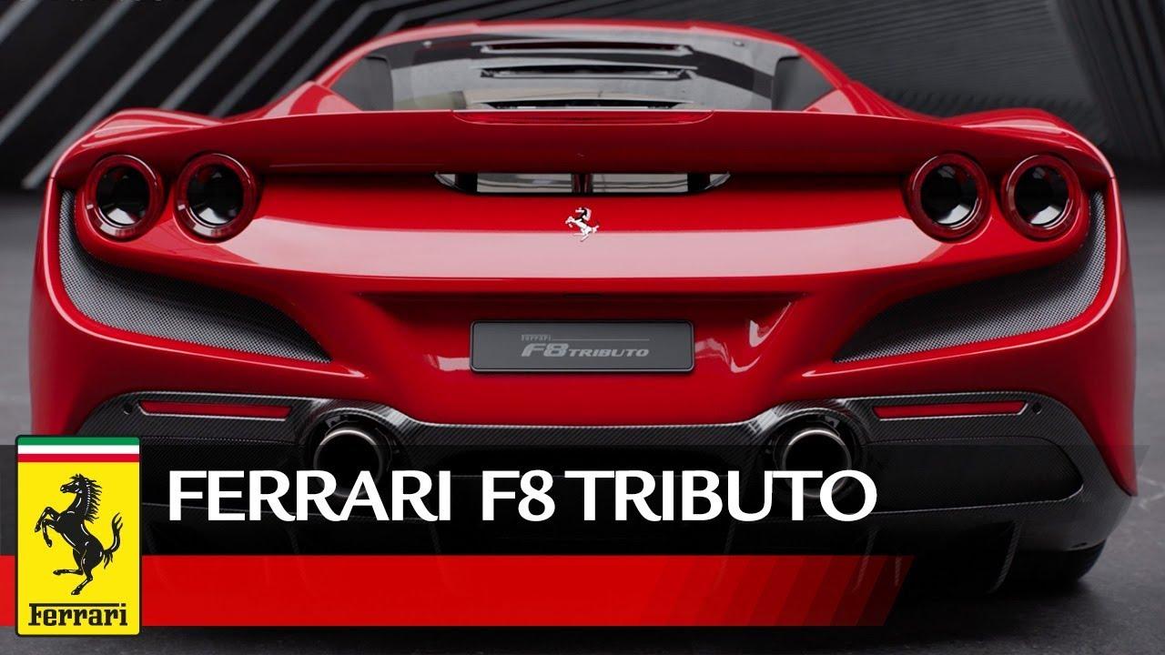 Ferrari F8 Tributo Performance Youtube