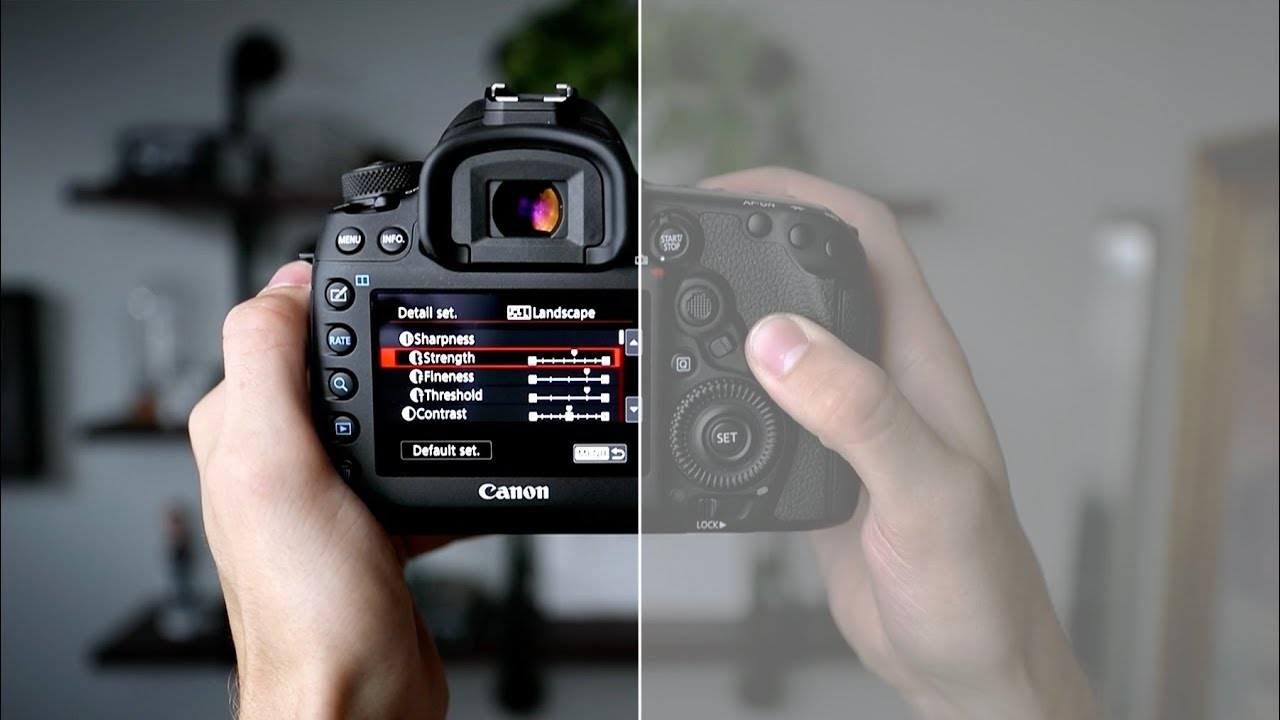 How to Soften Your Sharp 4K DSLR Video Footage