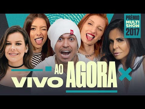 AO VIVO | Prêmio Multishow 2017 | Depois das Onze, Fernanda Souza, Gretchen e Luísa Sonza
