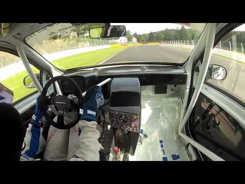Cup und Tourenwagen Trophy Spa Rennen 1 Renault Clio 3 Cup Trocken 20.7.2014