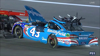 Aric Almirola Kansas Wreck Coverage