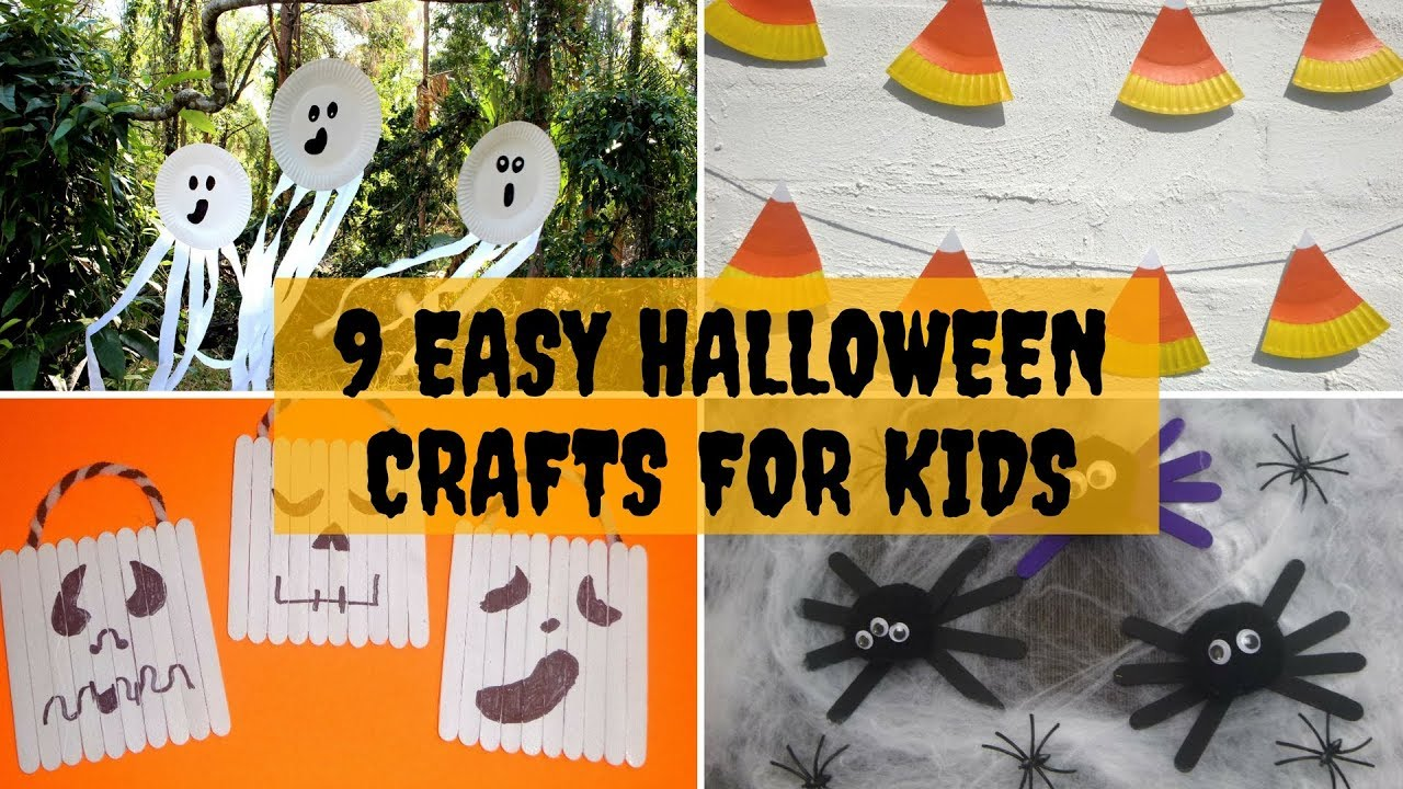 easy halloween crafts for kids 9 easy crafts for 6520