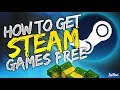 How To Get Free Steam Games - Steam Games Free (WORKING)