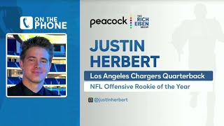 Chargers QB Justin Herbert Talks ROY, Brady, Brandon Staley & More with Rich Eisen | Full Interview