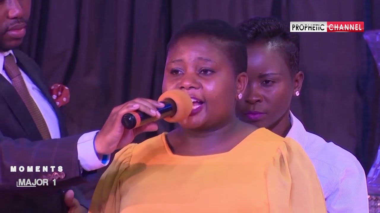 She conceived within a month after Struggling for 2 yrs  with no Child~Prophet Shepherd Bushiri