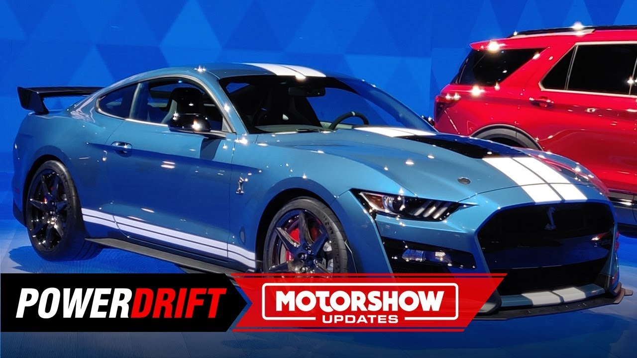2020 ford mustang shelby gt500   700  hp frenzy   2019 detroit auto show   powerdrift