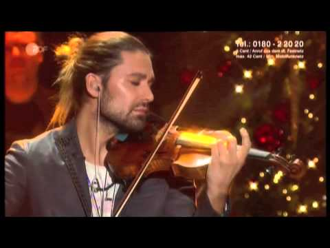 DAVID GARRETT - CHRISTMAS 2012 -
