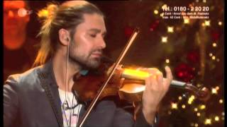 "DAVID GARRETT - CHRISTMAS 2012 - ""O Holy Night"""