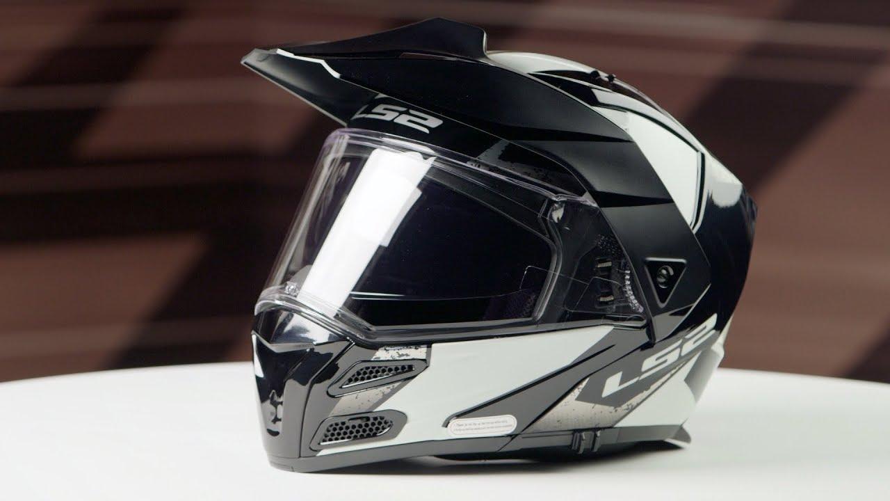 LS2 FF324 Metro V3 Sub Modular Helmet White//Black All Sizes