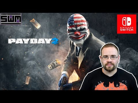 PayDay 2 Nintendo Switch - Crashing Into A Mall! | Spawn Wave Plays