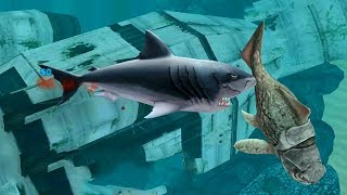 Hungry Shark Evolution Megalodon Gameplay HD #5