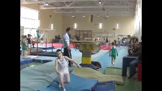 2-й разряд прыжок. Спортивная гимнастика мужчины 10,5 лет.