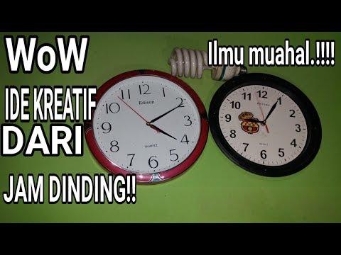Wow!! Ide kreatif dan tak terduga dari jam di rumah anda menjadi??