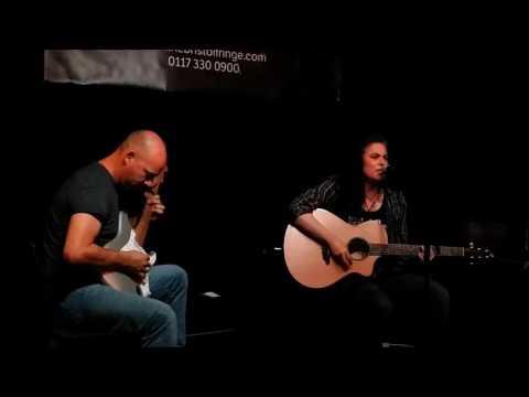 Rebecca Hosking and Dave Willmott Riding Shotgun atThe Bristol Fringe 27th June 2017