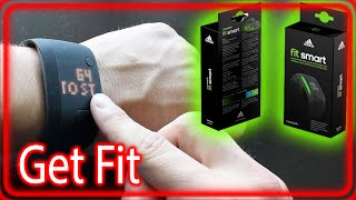 adidas fit smart fitness tracker band micoach