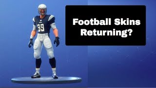 Football Skins Returning? | Investigation | Fortnite Battle Royale