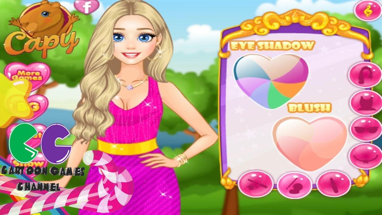 Princess Rapunzel Like Barbie Doll Princess Games Youtube