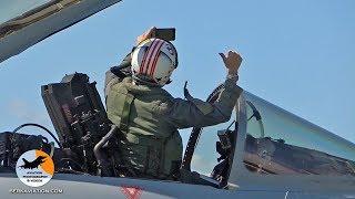 Eurofighter Typhoon | Pilot selfie! Flight preps, start-up to shut down | Spanish Air Force