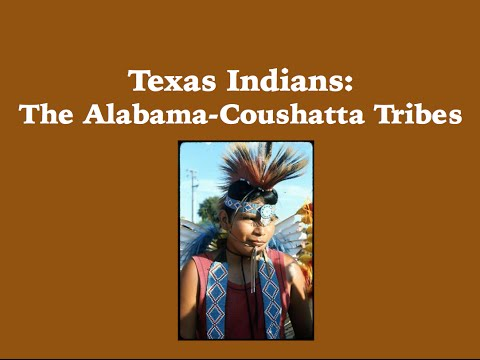 Infotopia Presents: Texas Indians-The Alabama Coushatta