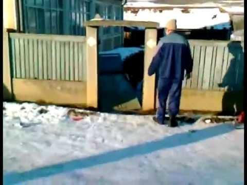 Epic Fail Румыния Санки Ворота