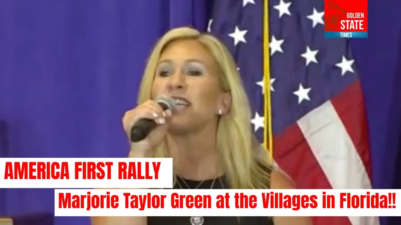 FIREBRAND REPUBLICANS ROCK FLORIDA: Majorie Taylor Greene EXPLOSIVE Speech at the Villages
